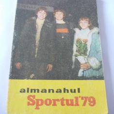 ALMANAHUL SPORTUL 1979  .
