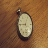 Ceas omega argint - Ceas de buzunar