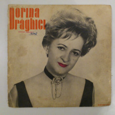 Disc vinil vinyl pick-up Mediu Electrecord DORINA DRAGHICI Un Pic De Noroc O Zi Senina Ion Vasilescu Gherase Dendrino  rar vechi colectie MAX