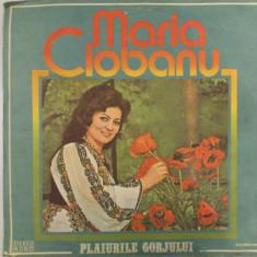 Disc vinil vinyl pick-up Electrecord MARIA CIOBANU Plaiurile Gorjului rar vechi colectie MAX