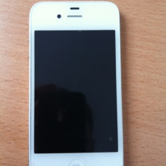 iPhone 4 Apple 16gb, Alb, Neblocat