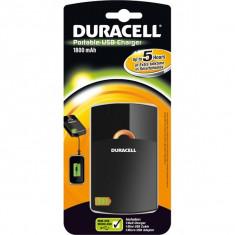 Acumulator extern Duracell USB - 1800mAh (incarca HTC, Samsung, LG etc.) - Baterie externa