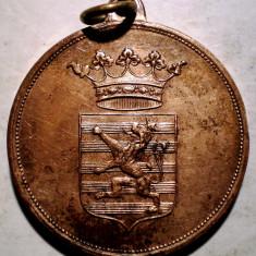 5.366 LUXEMBURG MEDALIE SPORT GIMNASTICA 1909 28mm, Europa