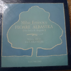 Mihai Eminescu Recita Ion Caramitru Seciu floare Albastra Lirica poezie VINYL lp - Muzica soundtrack electrecord, VINIL