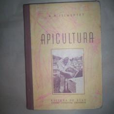 Apicultura - carte stuparit albinarit an 1952)-A. Climentov