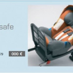 Super oferta scaun de copil cu ISOFIX RENAULT - Scaun auto copii Bebe Confort, 1-2-3 (9-36 kg), Opus directiei de mers