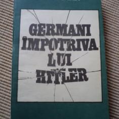 GERMANI IMPOTRIVA LUI HITLER MARIN BADEA carte stiinta istorie
