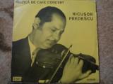 Nicusor predescu muzica de cafe concert album disc vinyl lp muzica jazz folk pop, VINIL, electrecord