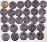 bnk mnd Rusia set complet 2012 - 28 monede - comemorative razboiul din 1812