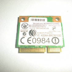 Placa de retea wireless mini pci half size hp probook 4515 Acer