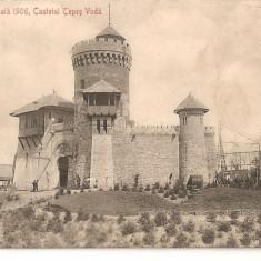 CPI (B1737) EXPOSITIA NATIONALA 1906, CASTELUL TEPES VODA, EDITURA SOCEC @ Co. SOC. ANON. BUCURESCI, NECIRCULATA