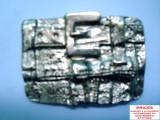 CATARAMA /PAFTA PENTRU CUREA , UNISEX,  ,,OLD MODEL NO.11''., L/XL, Argintiu