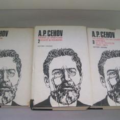 A.P.CEHOV OPERE VOL, 1, 2, 3 - Carte Antologie