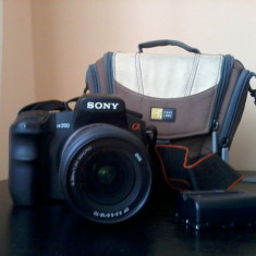 Sony Alpha 200 - DSLR Sony, 10 Mpx