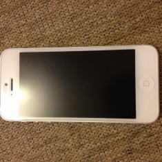 Apple iphone 5 decodat cu gevey, Alb, 16GB, Neblocat