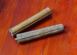 Lot 2 bucati - piese din lemn / stalp pentru mobila sau ceasuri de perete !