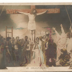 CPI (B1744) LE CRUCIFIEMENT, CIRCULATA, CARTE POSTALA VECHE