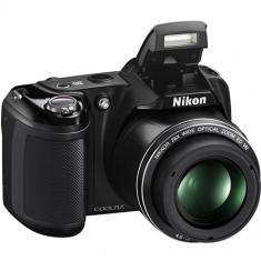 Nikon Coolpix L810 negru Geanta foto Nikon Energizer Compact Charger 4AA 2000mAh SD 8GB HC Sandisk Std SDHC - Aparat Foto compact Nikon