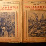 Jules Verne - Testamentul unui excentric - vol.1 si 2 - 1941