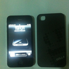iPhone 4 Apple 16GB, stare impecabila, Negru, Neblocat