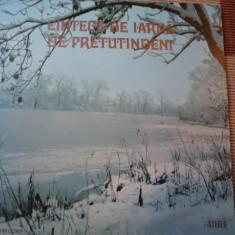 Cantece de iarna de pretutindeni Corala Cantores Amicitia Iasi muzica vinyl lp - Muzica Corala electrecord, VINIL