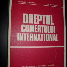 DREPTUL COMERTULUI INTERNATIONAL - BRANDUSA STEFANESCU, ION RUCAREANU - Carte Drept international
