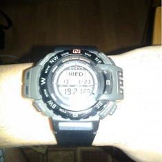 Vand ceas Casio prt-40 Pathfinder Pro Trek - Ceas barbatesc Casio, Sport, Cauciuc, Rezistent la apa, Electronic, 2000 - prezent