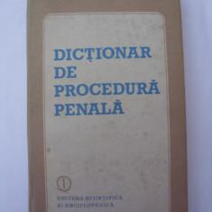 Dictionar de procedura penala - Carte Istoria dreptului