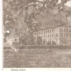 CPI (B1831) ORASUL STALIN, INSTITUTUL MECANIC, CIRCULATA BRASOV, 20.5.61, STAMPILE, TIMBRU, RPR - Carte Postala Transilvania dupa 1918, Printata