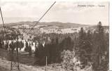 CPI (B1912) POIANA STALIN. VEDERE, BRASOV, CIRCULATA 1952, STAMPILE, TIMBRU, RPR, Fotografie