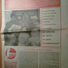 Ziarul flacara 7 ianuarie 1983 (mesajul de anul nou a lui ceausescu )