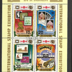 BLOC KOREA DE NORD --1981 - Timbre straine, Stampilat