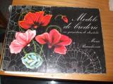 MODELE DE BRODERIE - Maria Paraschivoiu  - 1976, 59 p. + 5 pl.