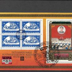 BLOC KOREA-NORD--1981 - Timbre straine, Stampilat