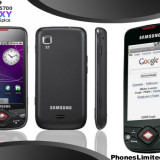 Samsung Galaxy I 5700 Spica - Telefon Samsung, Negru, Neblocat, Single SIM, Single core, 256 MB