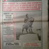 Ziarul flacara 11 noiembrie 1983 (vizita presedintelui iugoslaviei in romania )