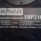 Subwoofer EmPhaser 300W - Amplificator  Rodek