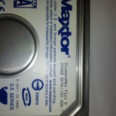 HDD Maxtor 200GB SATA - Hard Disk Maxtor, 200-499 GB, Rotatii: 7200, 8 MB