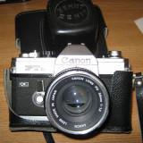 Vand Canon FTb QL + Blitz Kako Auto-280sg + exponometru Leningrad 7