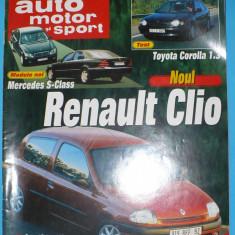 AUTO, MOTOR SI SPORT NR. 3/1998 - Revista auto