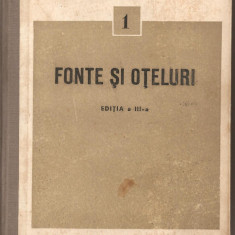 (C2856) FONTE SI OTELURI, STANDARDE, EDITURA TEHNICA, BUCURESTI, 1959, STAS - Carti Metalurgie