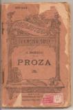 (C2916) PROZA DE C. NEGRUZZI, ED. LIBRARIEI UNIVERSALE, ALCALAY, 1924