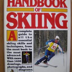 Karl Gamma - Manual pentru invatarea schiului. The handbook of skiing (lb. engleza)