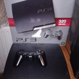 PS3, PlayStation 3 Sony, SLIM, 120+2000 gb, MODAT, 100 JOCURI, gta5, fifa 17, pes 2017