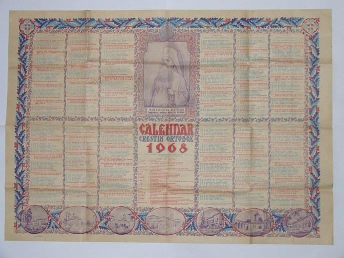 Calendar Crestin Ortodox.Calendar Crestin Ortodox 1968 De Colectie Super Reducere