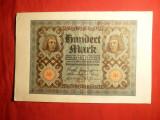 Bancnota 100 Marci 1920 Germania , cal.F.Buna