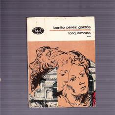 BENITO PEREZ GALDOS - TORGUEMADA VOL 2 - Carte in spaniola