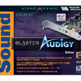 Audigy Sound Blaster 2D - 24 Biti 7.1 3D Surround - Placa de sunet PC Creative, PCI