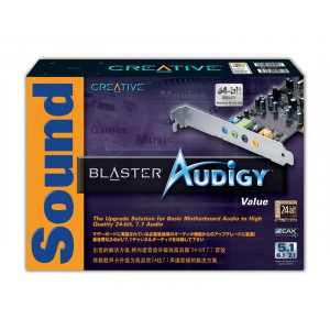 Audigy Sound Blaster 2D - 24 Biti 7.1 3D Surround