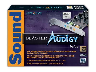 Audigy Sound Blaster 2D - 24 Biti 7.1 3D Surround foto
